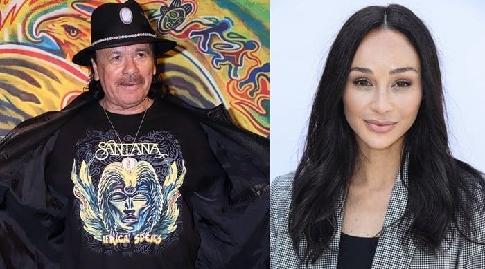 Carlos Humberto Santana Barragán and Cara Santana are not related
