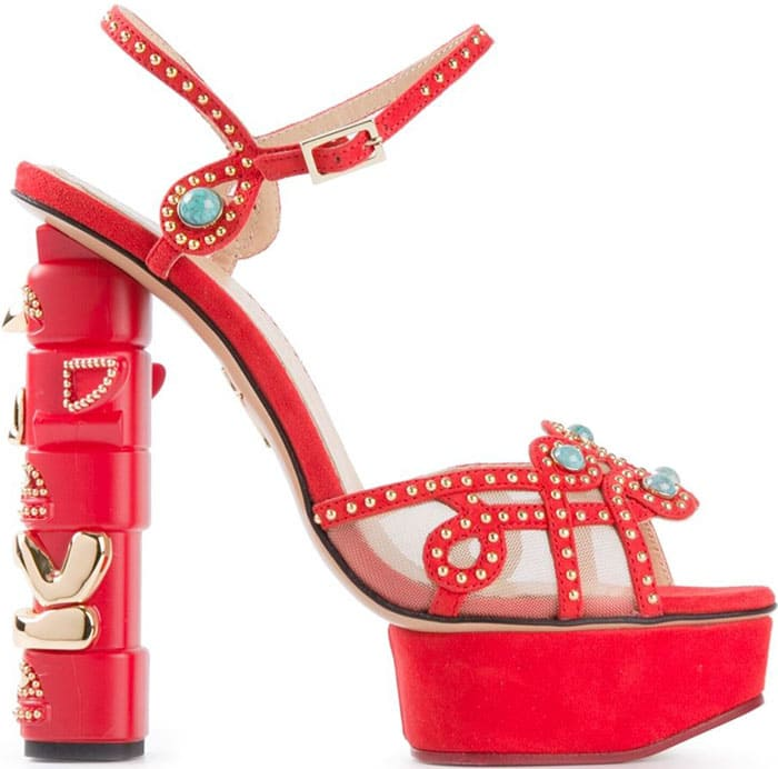 Charlotte Olympia Totem Sandals