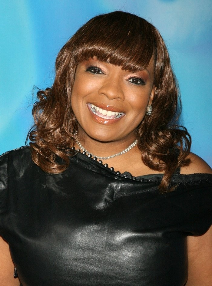 Singer Cheryl 'Pepsii' Riley, who did the singing for Taraji P. Henson, attends the New York premiere of Tyler Perry's I Can Do Bad All By Myself