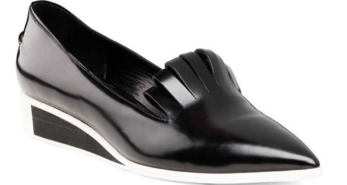 """Chiko """"Marissa"""" Pointed-Toe Low-Wedge Pumps"""