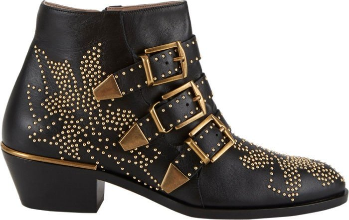 "Chloe ""Suzanna"" Studded Ankle Boots"