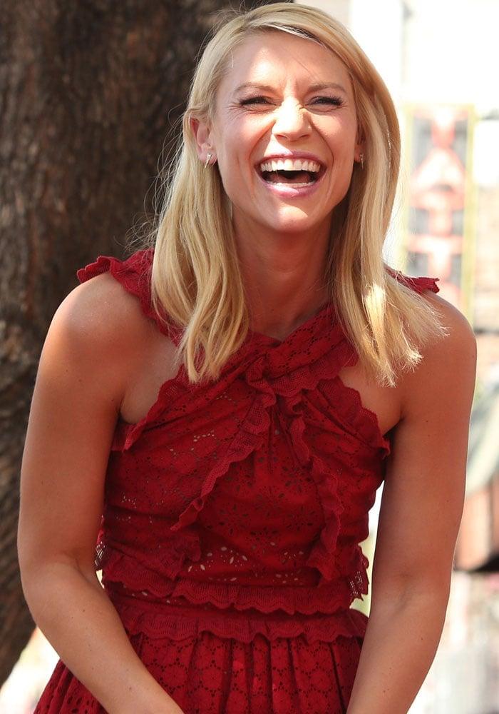 Claire Danes Hollywood Star Kurt Geiger 1