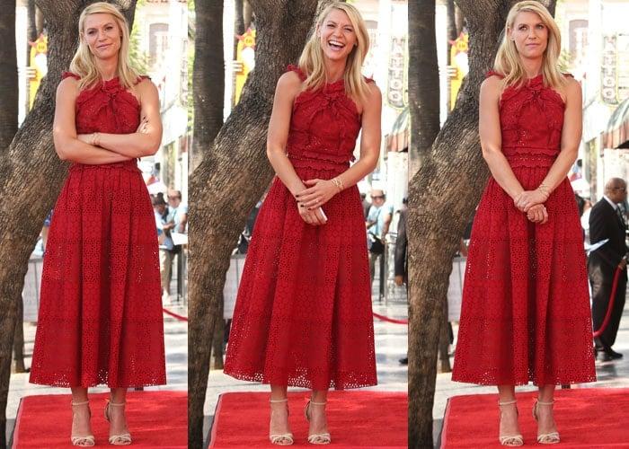 Claire Danes Hollywood Star Kurt Geiger 2