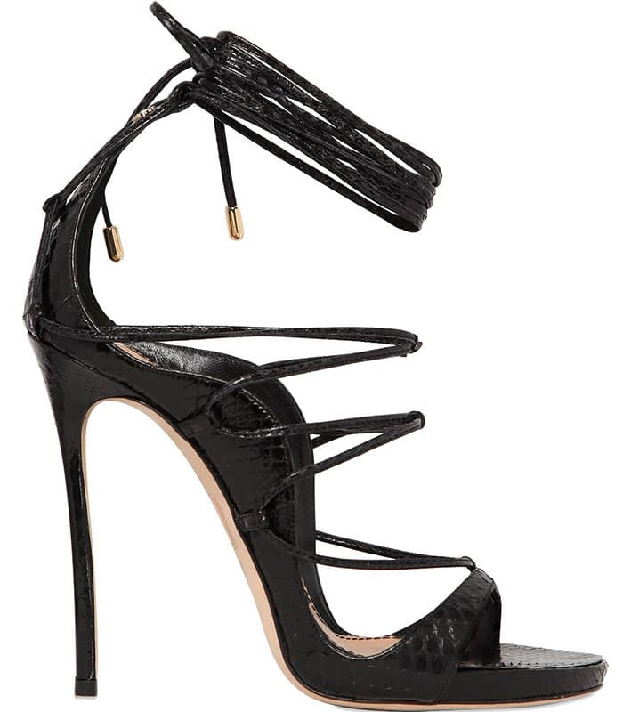 DSquared2-Ayers-Snakeskin-Lace-Up-Sandals