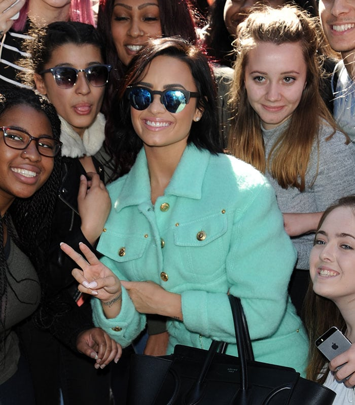 Demi-Lovato-with-fans-Capital-FM-Radio-Station