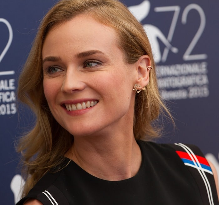 Diane Kruger attends a photo call for the Venezia 72 jury during the 2015 Venice Film Festival