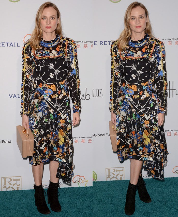 Diane Kruger at the Fashion 4 Development's 2015 Official First Ladies Luncheon