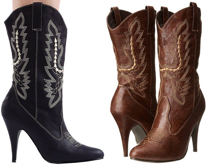 Ellie Shoes 418-Cowgirl Western Boot