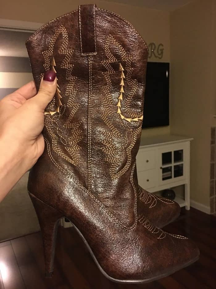 Ellie Shoes Cowgirl Western Boot