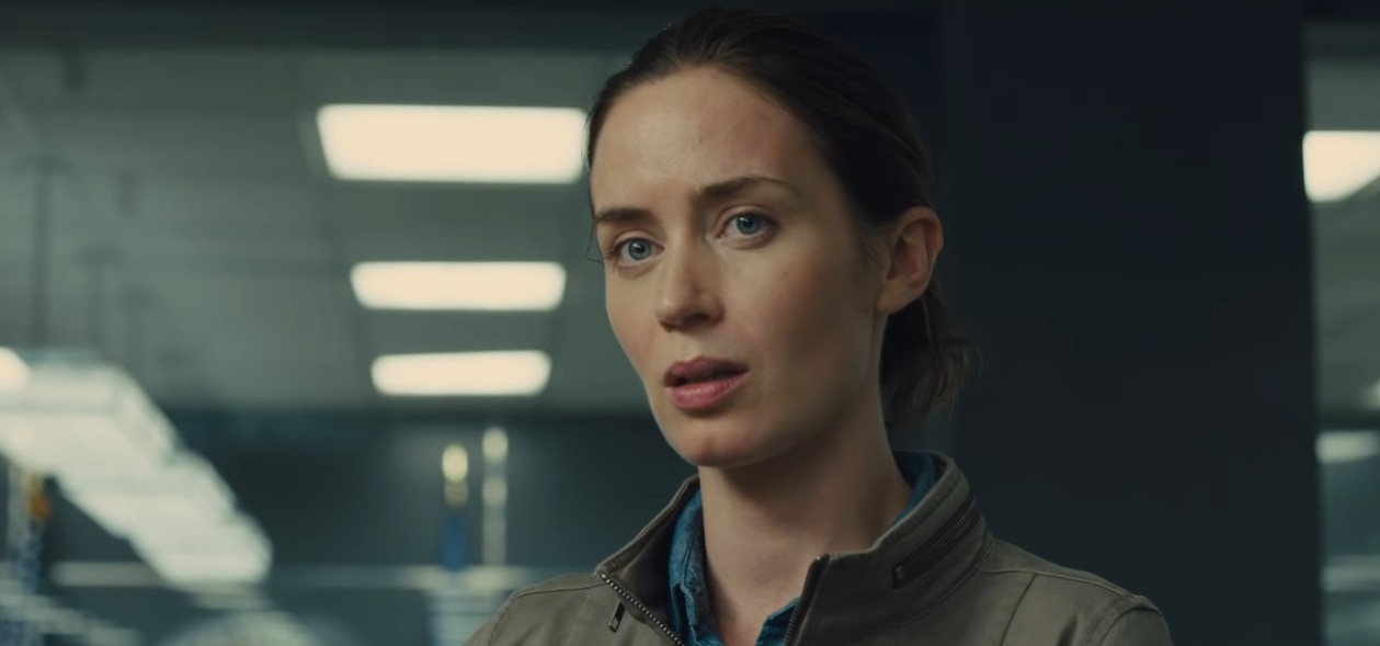 Emily Blunt as Kate Macer in the 2015 American action thriller film Sicario