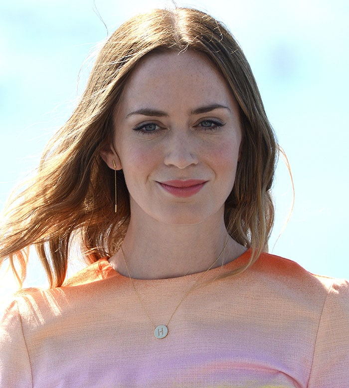 """Emily Blunt attends the """"Sicario"""" photocall during the 63rd San Sebastian International Film Festival"""