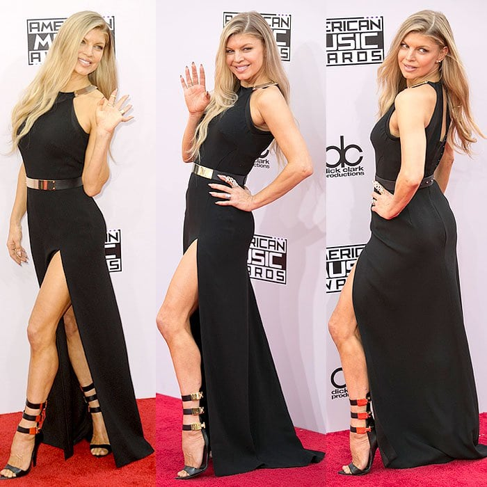 Fergie attends the 2014 American Music Awards held at the Nokia Theatre L.A. Live