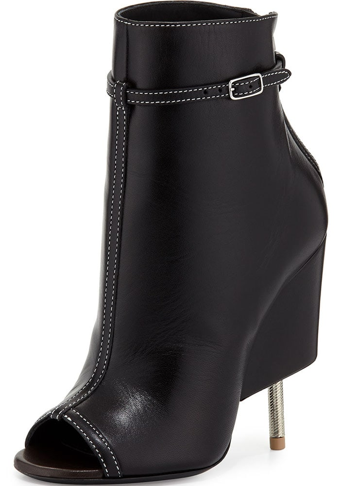 Givenchy Leather Screw Bootie