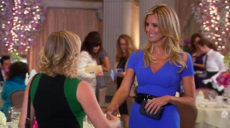 Heidi Klum as Ulee Danssen, the mayor of a town in Denmark, on Parks and Recreation