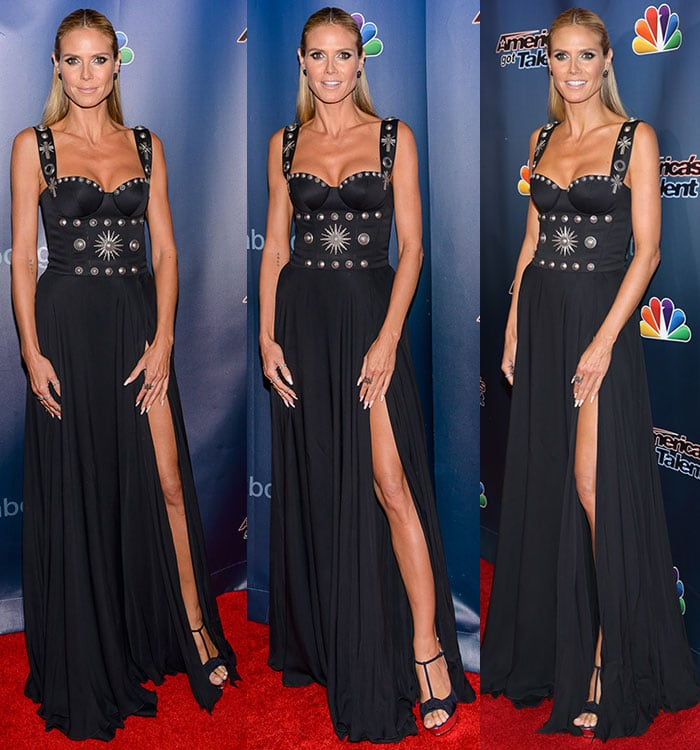 "Heidi Klum at the ""America's Got Talent"" Season 10 Finale at Radio City Music Hall in New York City on September 16, 2015"