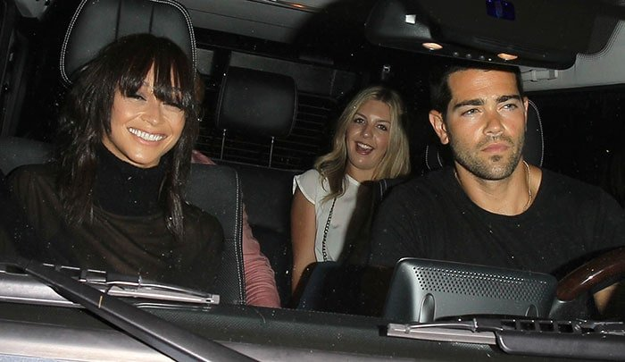Jesse Metcalfe and Cara Santana leaving The Nice Guy in West Hollywood on August 29, 2015