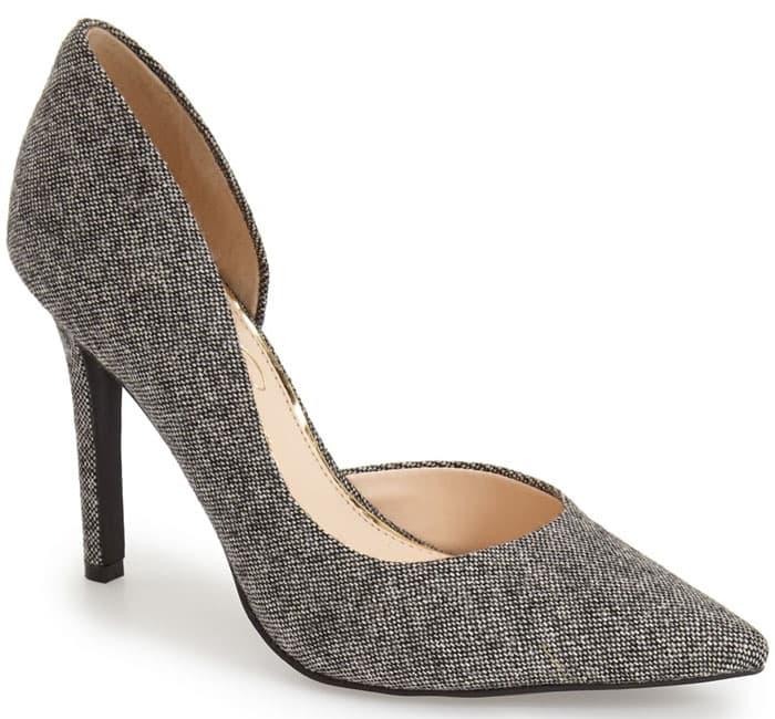 Jessica Simpson Claudette Pumps Charcoal Fabric