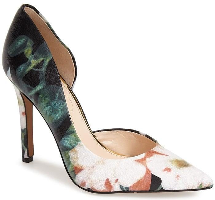 Black Multi Jessica Simpson Claudette Heels
