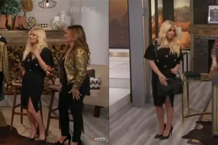 Jessica Simpson appearing to be inebriated while selling the Jessica Simpson 10th Anniversary Collection on HSN