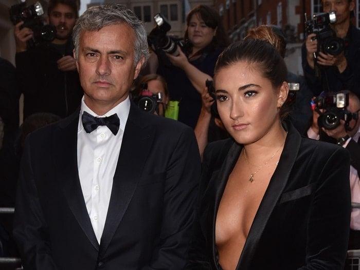 Jose Mourinho and Matilde Mourinho at the GQ Men of the Year Awards