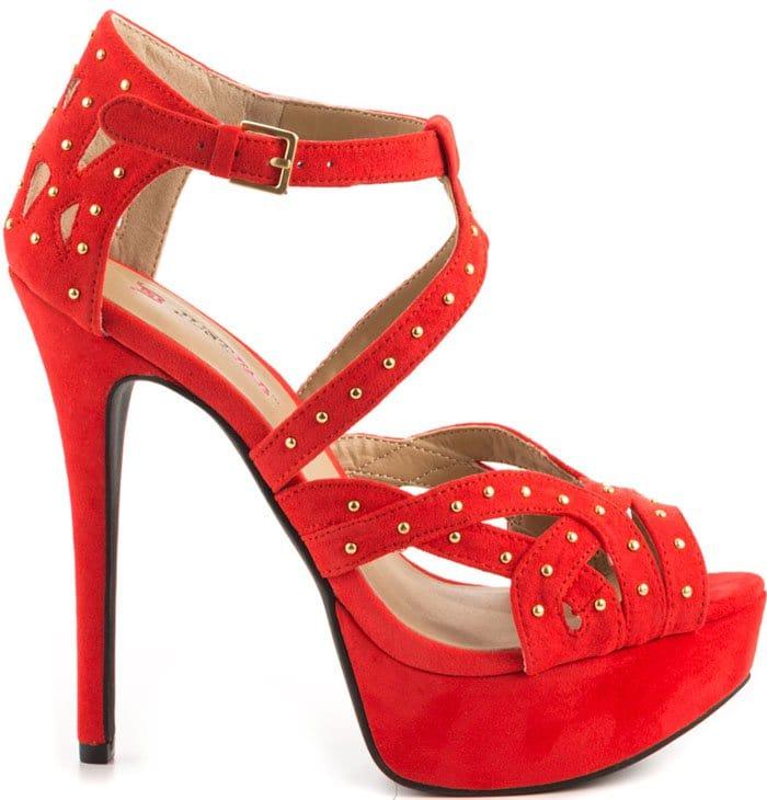 Selene Sandals in Red