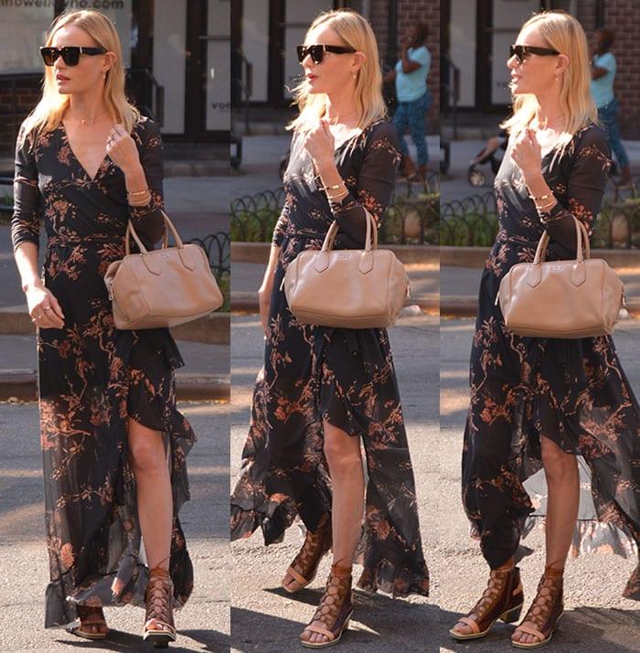 Kate-Bosworth-Floral-Wrap-Maxi-Dress-Lace-Up-Sandals-1