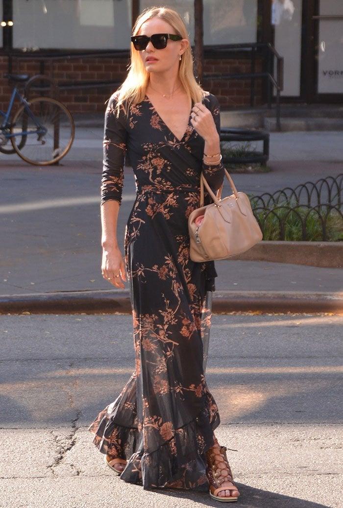 Kate-Bosworth-Floral-Wrap-Maxi-Dress-Lace-Up-Sandals