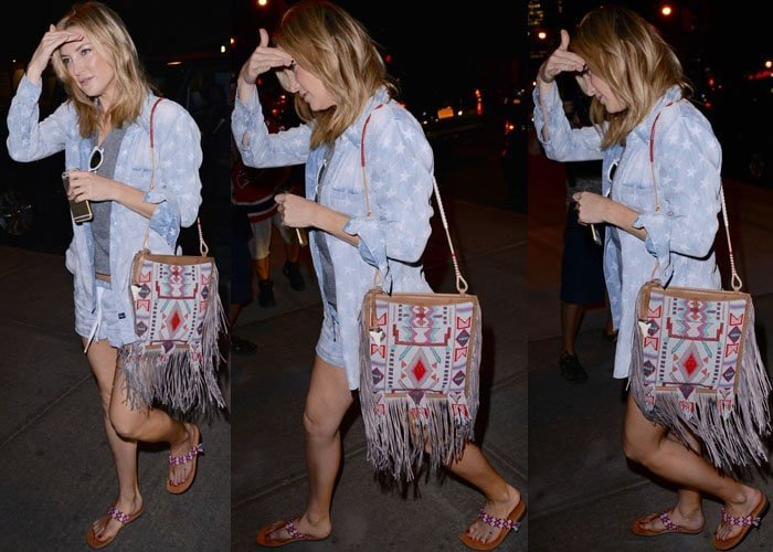 Kate Hudson Hotel Tribal Sandals 2