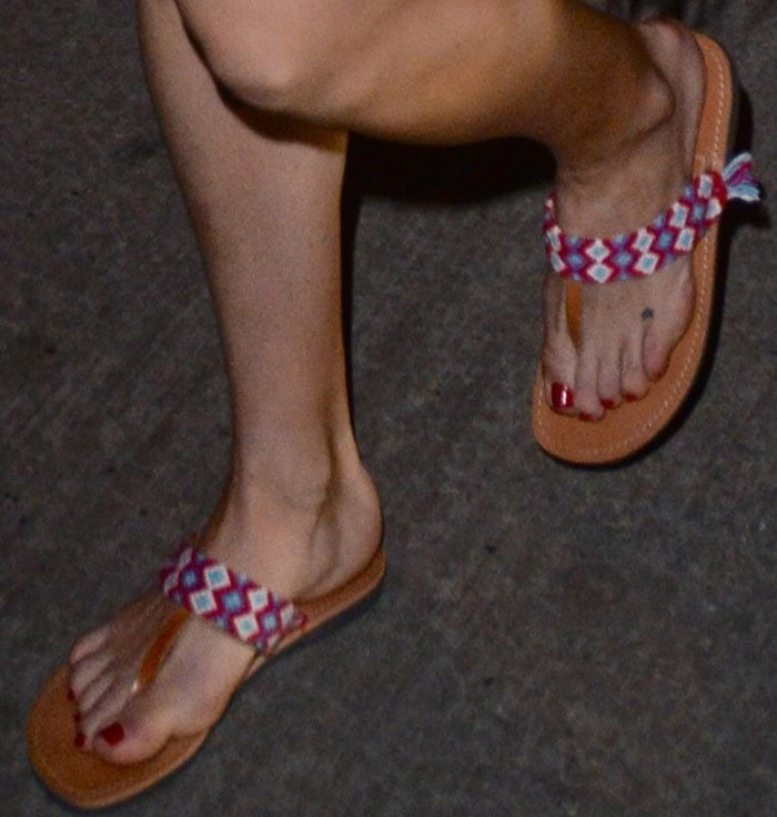 Kate Hudson Hotel Tribal Sandals 3
