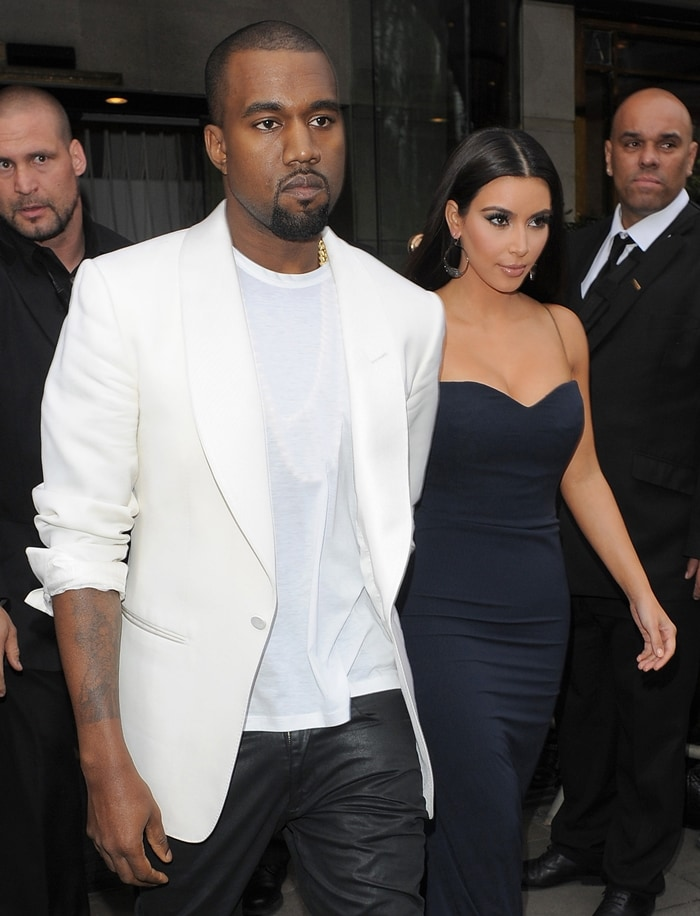 """Kim Kardashian says she is still together with Kanye West because the relationship has always been """"fun"""""""