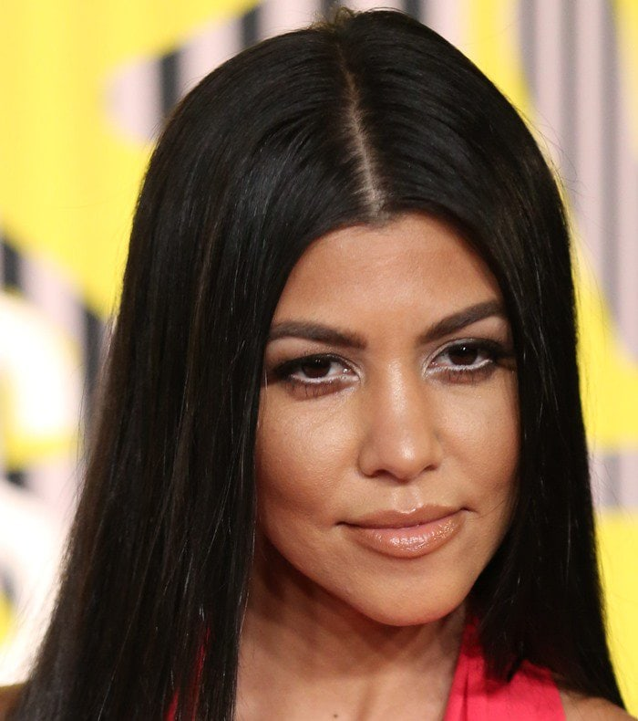 Kourtney Kardashian looked much classier than her younger sister