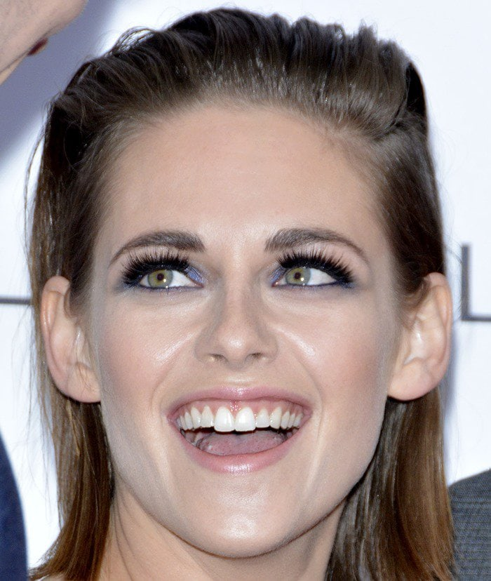 Kristen Stewart attends the premiere of her new film Equals held during the 2015 Toronto International Film Festival