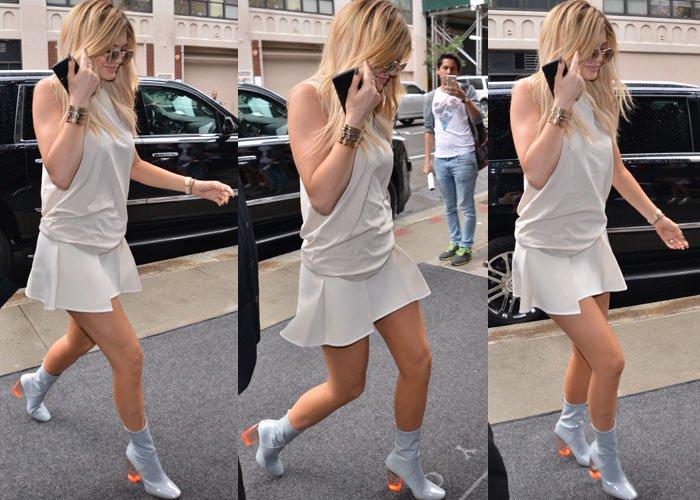 Kylie Jenner New York Dior 2