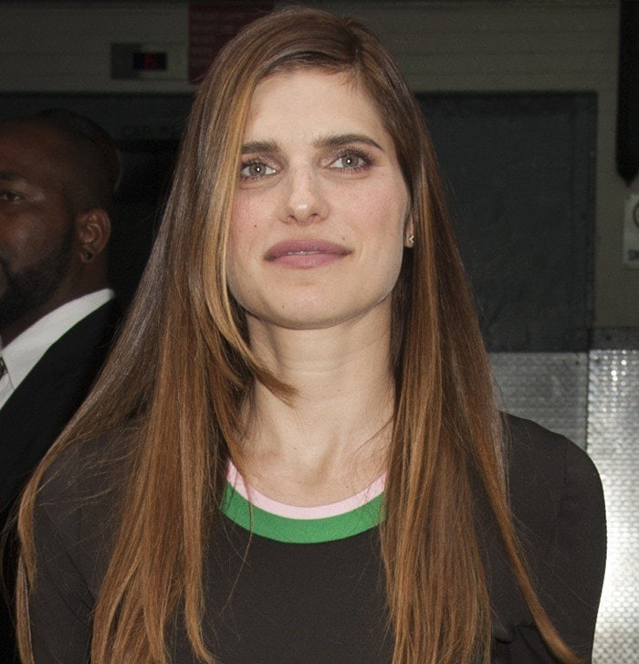 Lake Bell attends the AOL Build conference at AOL Studios in New York City on September 1, 2015