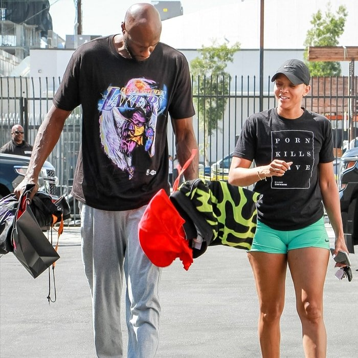 Lamar Odom and his girlfriend Sabrina Parr are abstaining from sex until they are married