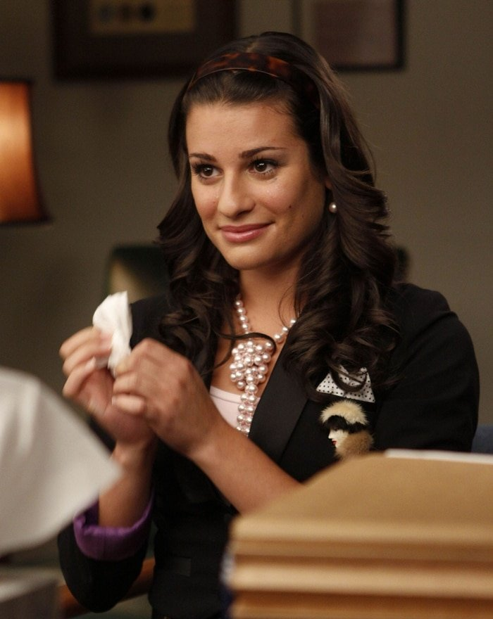 Lea Michele was 22-years-old when she got the role as Rachel Berry in Glee