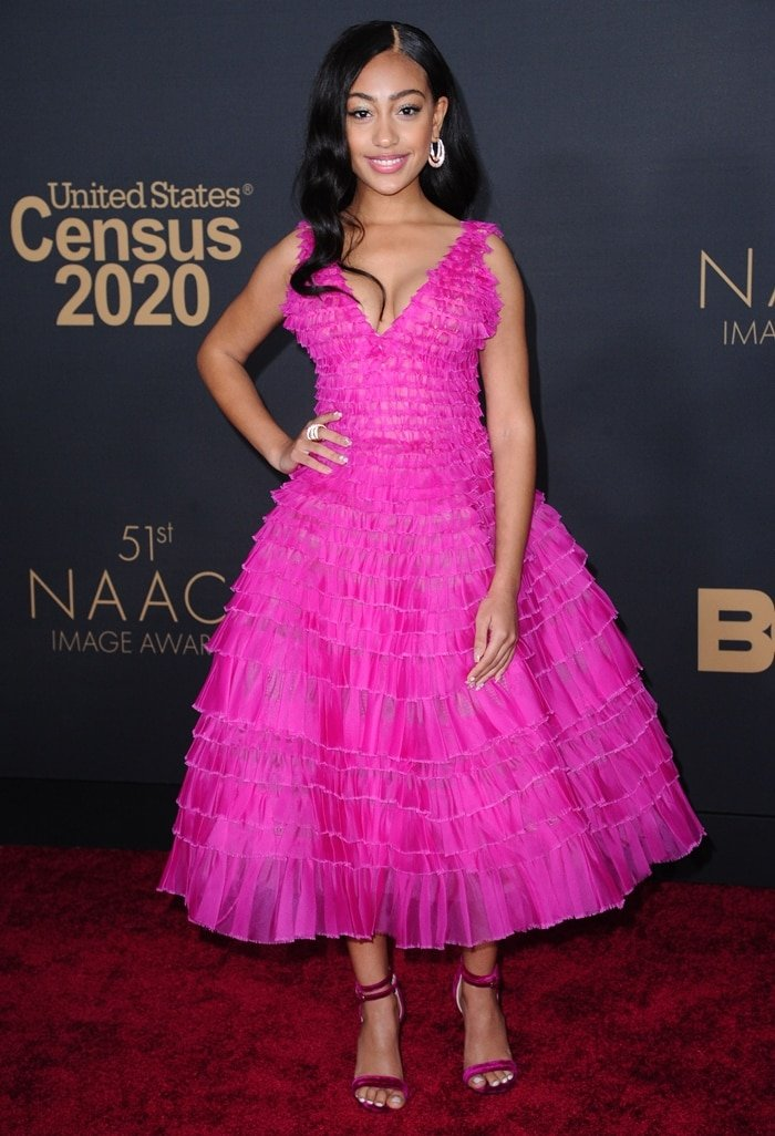 Lexi Underwood attends the 51st NAACP Image Awards