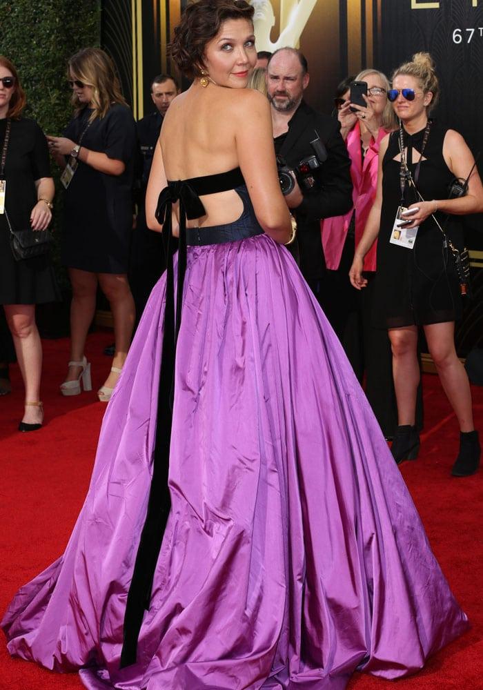 Maggie Gyllenhaal Emmy Charlotte Olympia 5