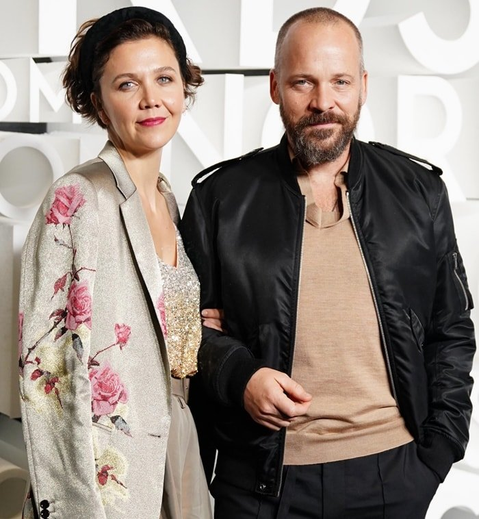 Maggie Gyllenhaal and her husband Peter Sarsgaard married on May 2, 2009, in a small ceremony in Brindisi, Italy