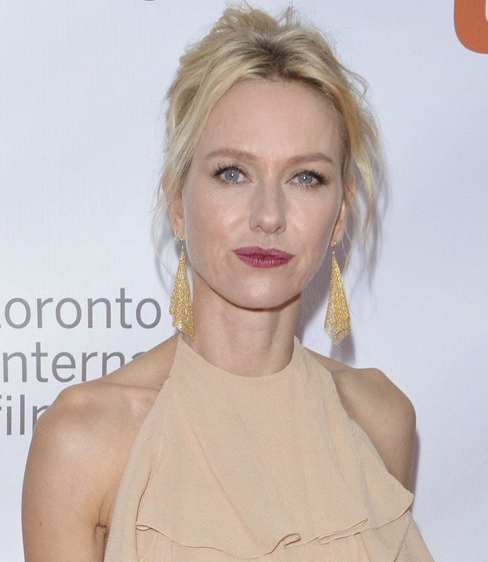 "Naomi Watts attends the premiere of ""Demolition"" during the opening night gala of the 2015 Toronto International Film Festival"