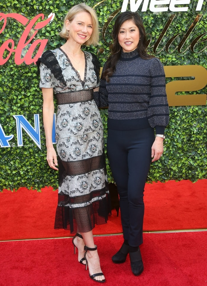 Naomi Watts and Kristi Yamaguchi attending the 2020 Gold Meets Golden Event