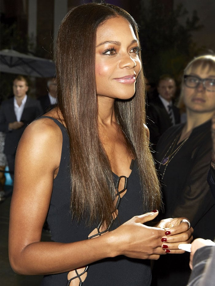 Naomie Harris David Koma dress 1