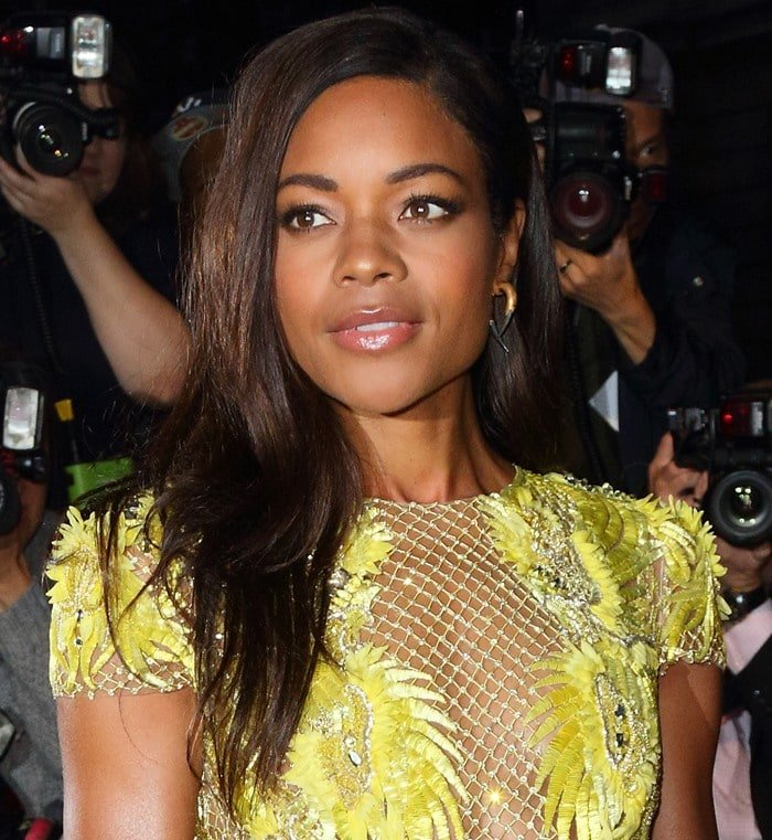 Naomie Harris attends the GQ Men of the Year Awards held at the Royal Opera House in London on September 8, 2015
