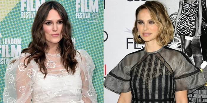 Natalie Portman and Keira Knightley look alike but are not related