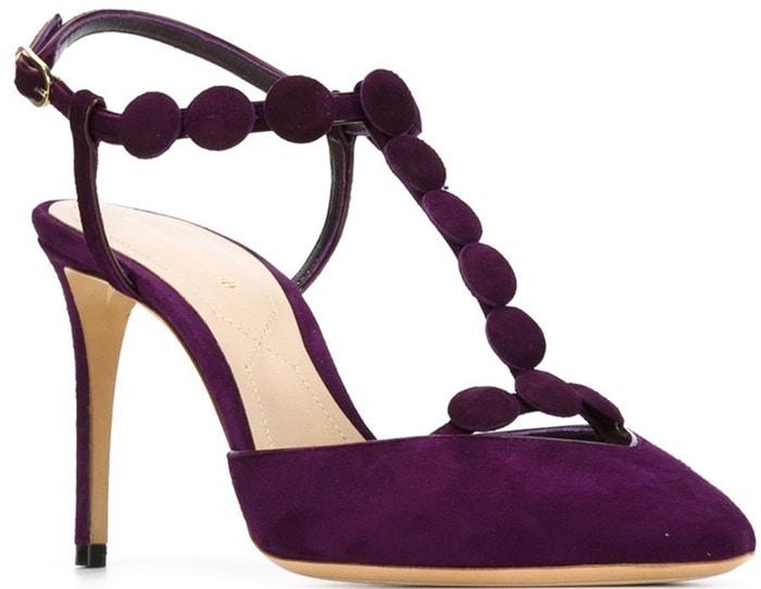 Nicholas Kirkwood Quantum suede pumps purple
