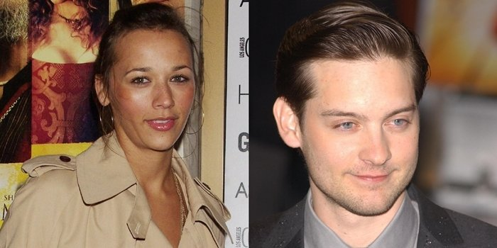 Rashida Jones and Tobey Maguire were dating just as their careers were really heating up