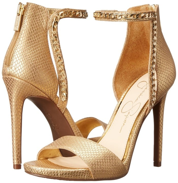 """Jessica Simpson """"Redith"""" Chain Embellished Sandal"""