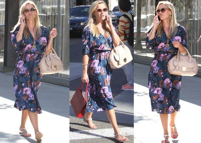 Reese Witherspoon Ferragamo Shopping 2