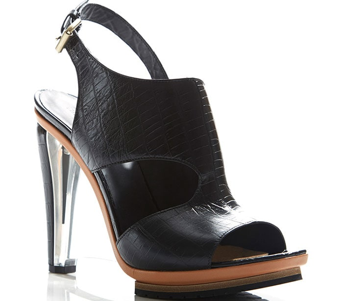 Rodarte-Embossed-Black-Crocodile-Leather-Clear-Lucite-Wedges