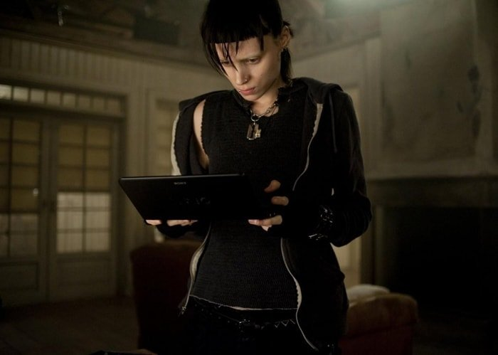 Rooney Mara had her nipples pierced as Lisbeth Salander in The Girl With the Dragon Tattoo